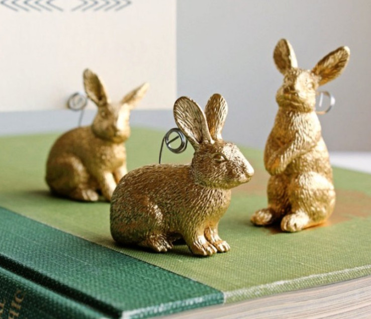 Держатели визиток в виде зайцев (8)