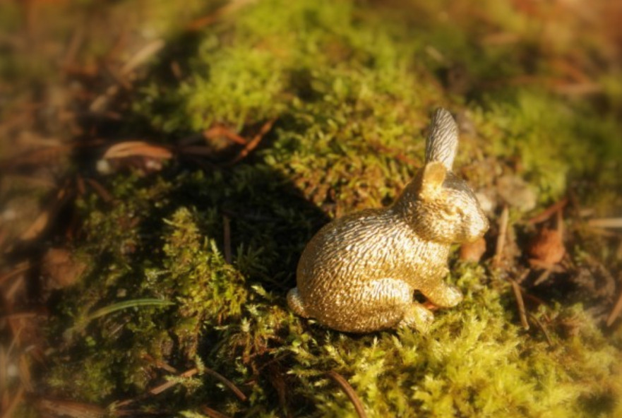 Держатели визиток в виде зайцев (6)