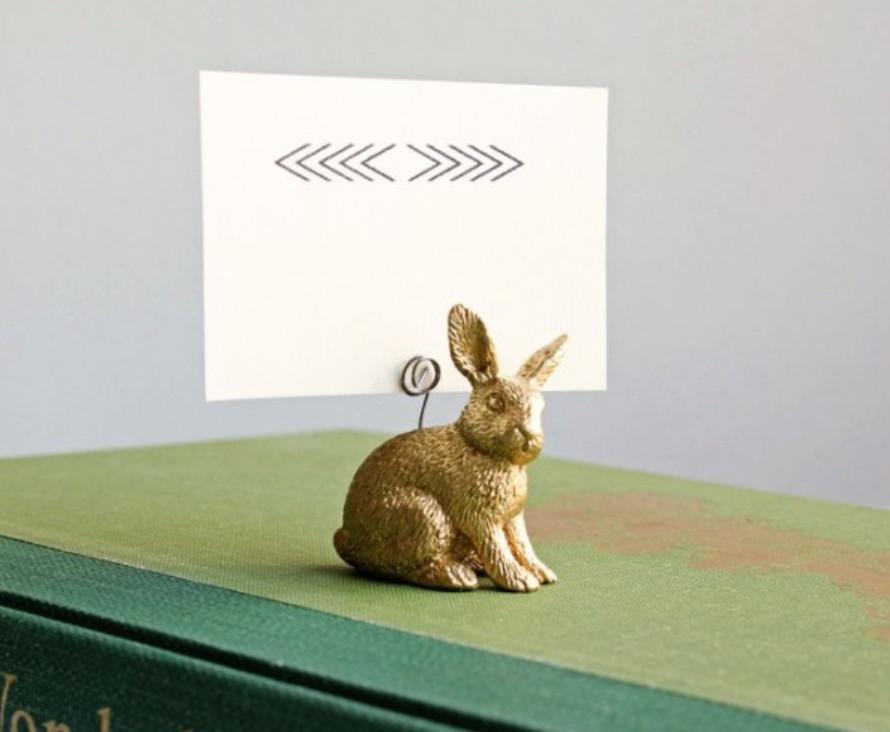 Держатели визиток в виде зайцев (3)