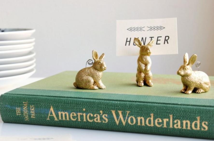 Держатели визиток в виде зайцев (1)