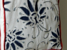 Текстильная сумка с рисунком Гжель (2)