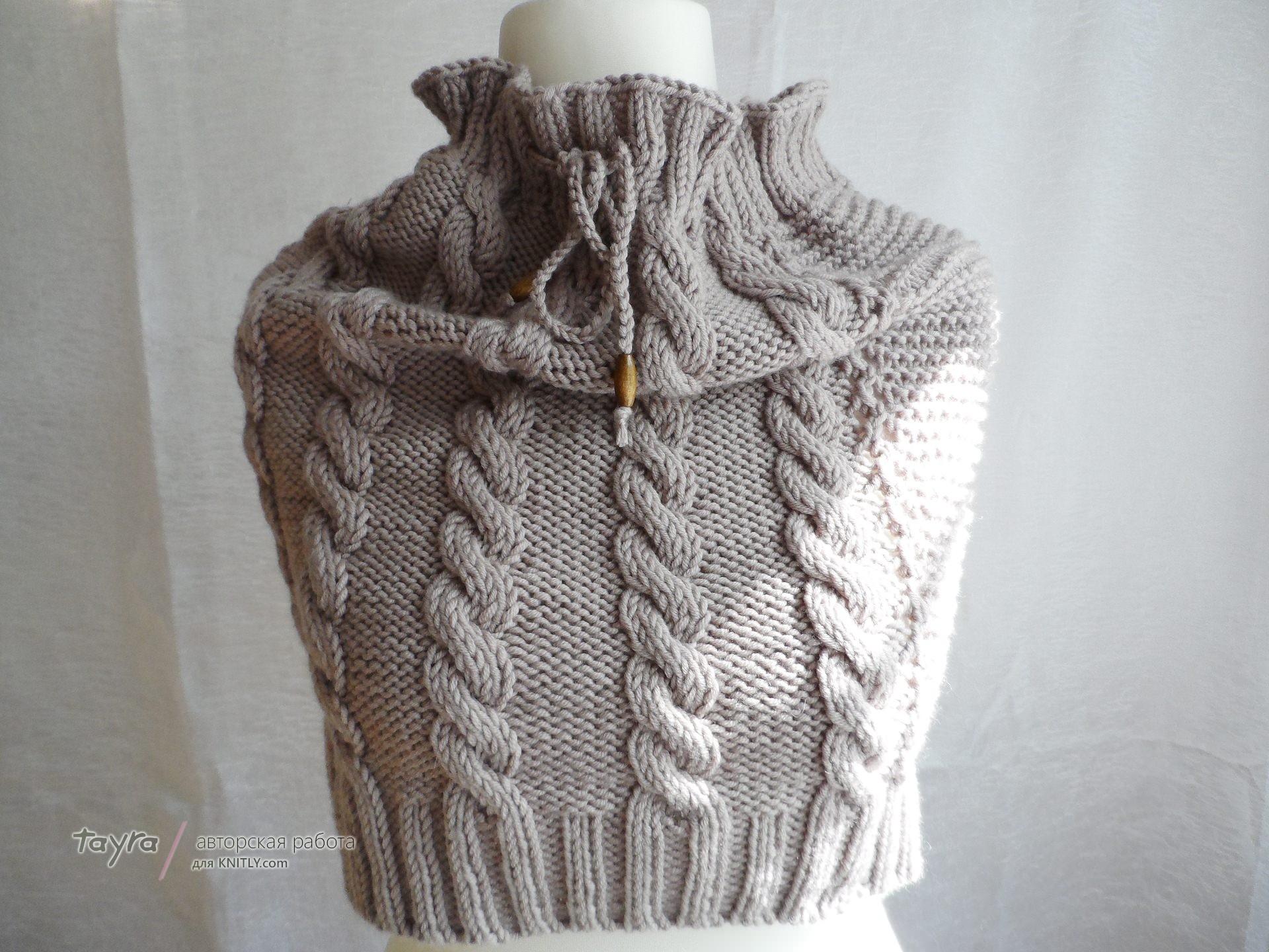 Как вязать крючков шарф