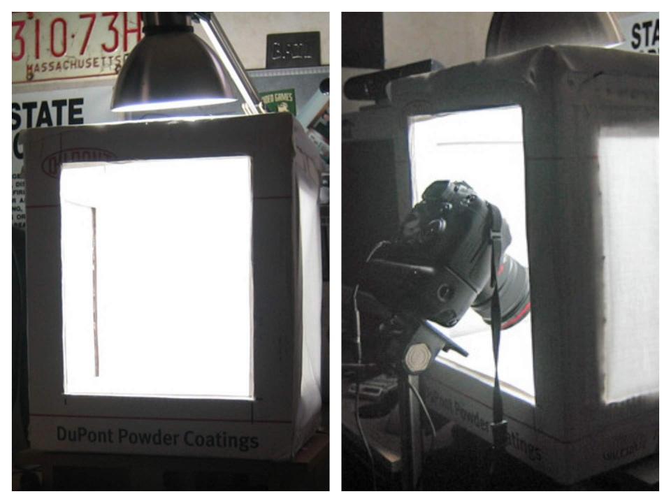 Как сделать лайт-бокс для предметной фотосъемки