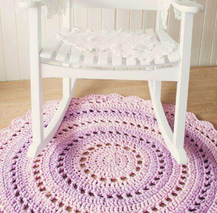Круглый коврик для детской