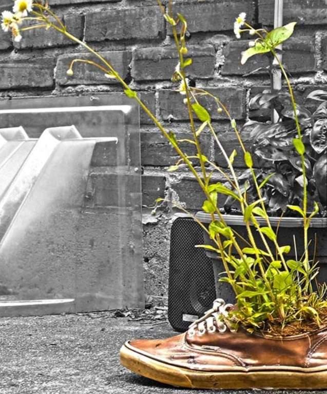 Поношенная обувь и ее перевоплощения