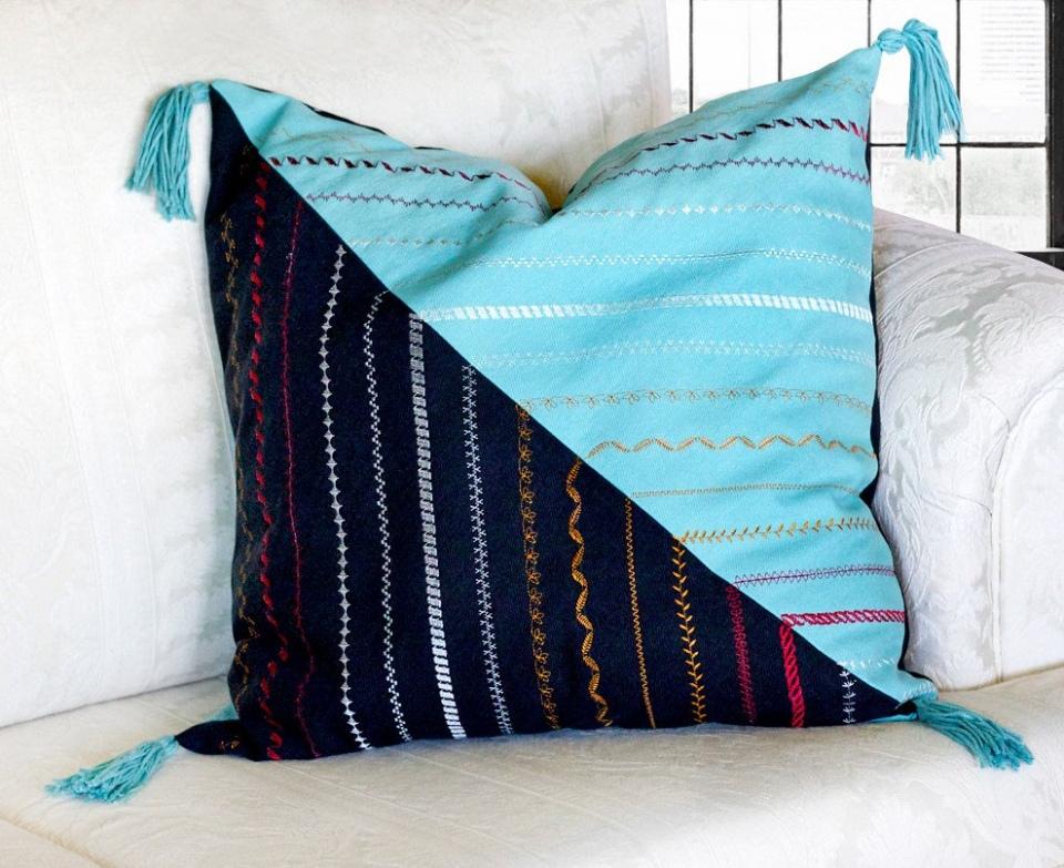 Наволочки для диванных подушек своими руками