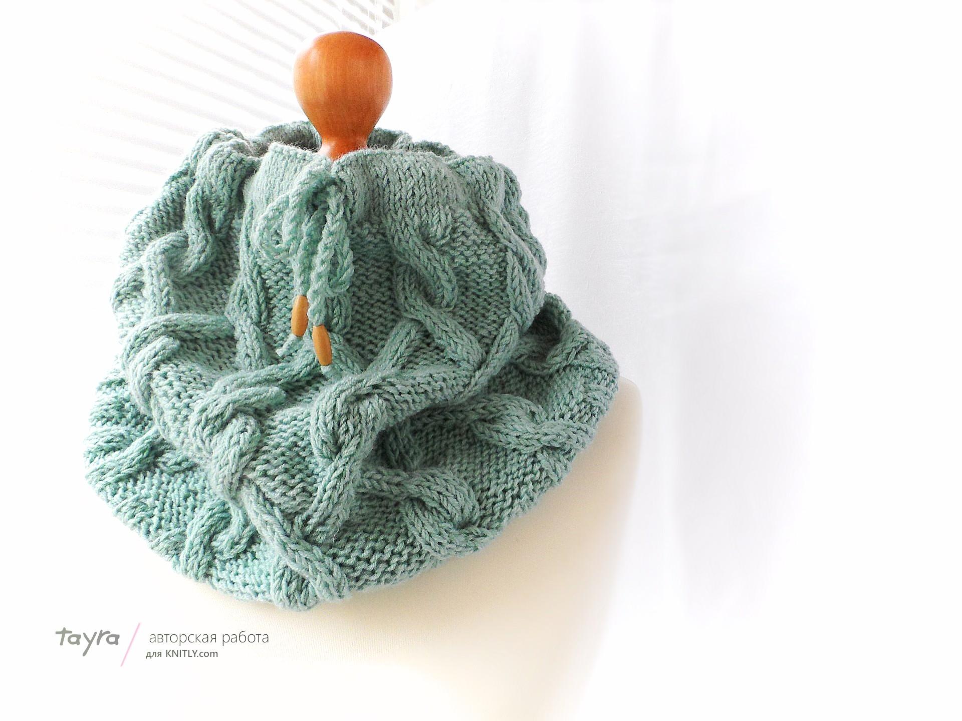 Коробка для вязания шарфа