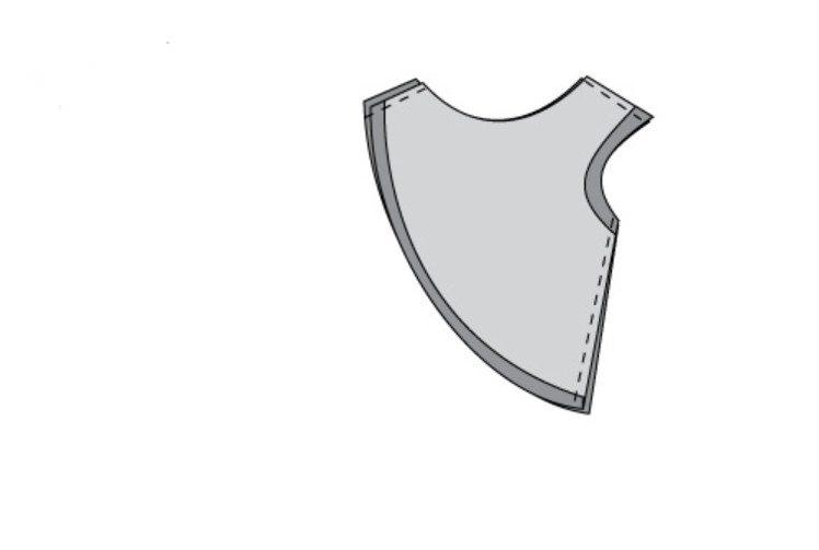 Шарф-снуд-накидка