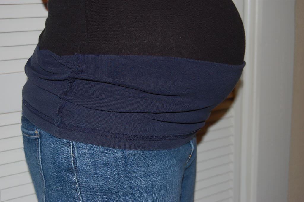 Делаем джинсы для беременных своими руками