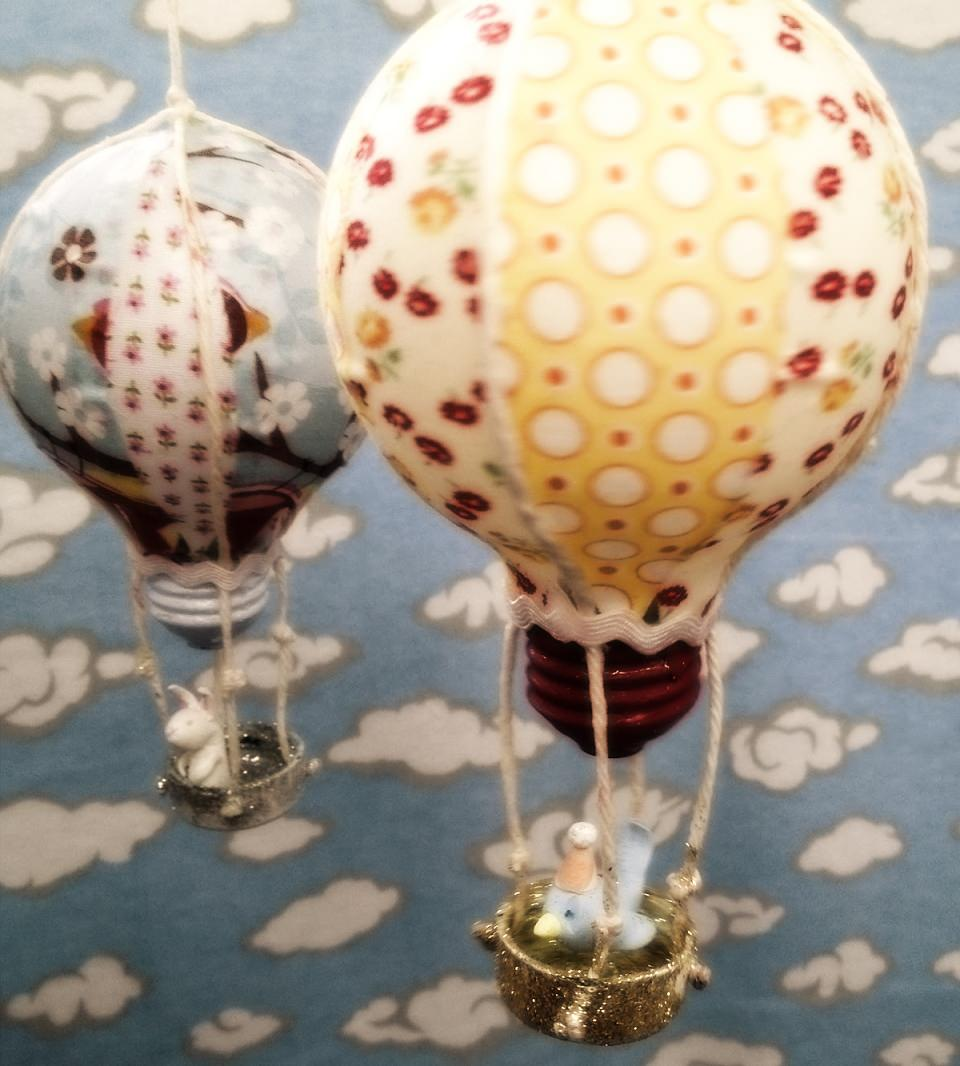 Как сделать игрушку воздушный шар из старой лампочки / KNITLY.com - блог о рукоделии, мастерклассы