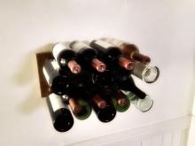 Стойка-невидимка для винных бутылок
