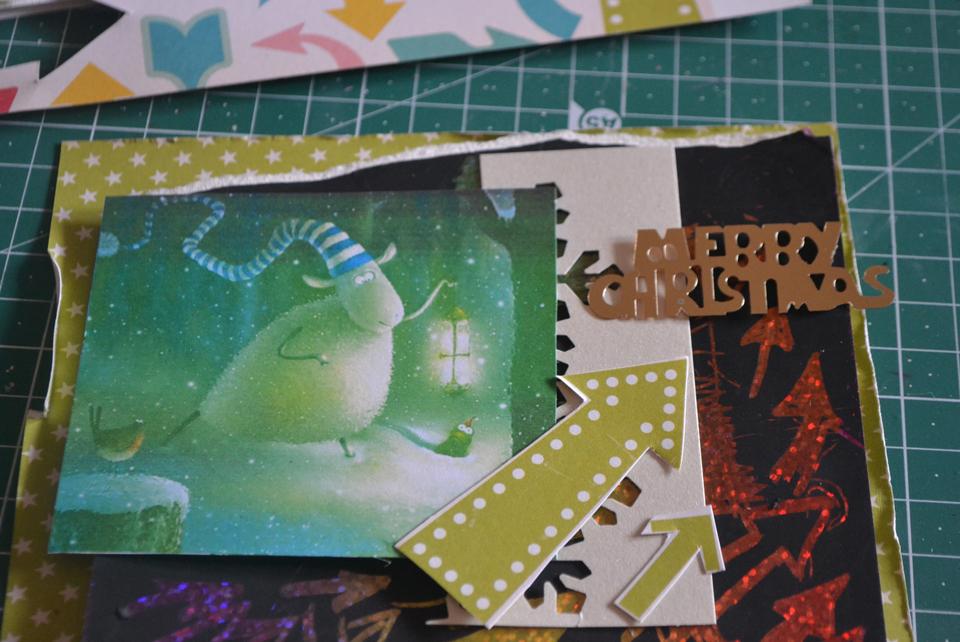 как сделать новогоднюю открытку своими руками мастер класс