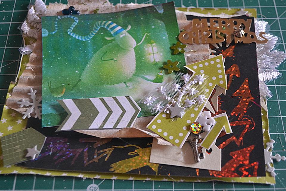 как сделать новогоднюю открытку своими руками пошаговая инструкция