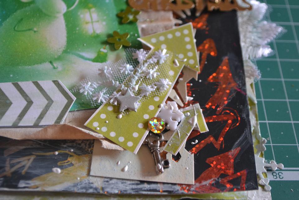 как сделать новогоднюю открытку своими руками из бумаги с ребенком на новый год